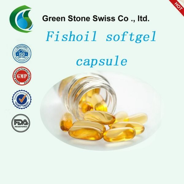 Fish Oil Softgel Capsule For Supplementing The Essential Fatty Acids