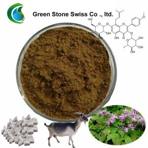 Organic Plant Extracts Epimedium Icariin Powder